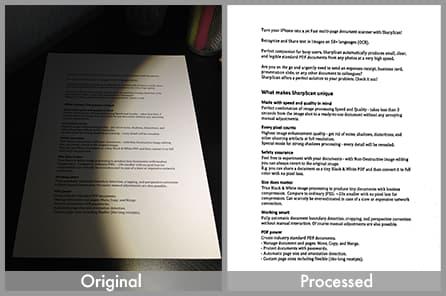 Processamento de Documento Escaneado
