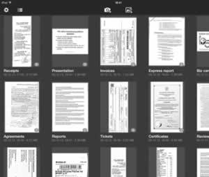 SharpScan: Manage documents with ease on iPad