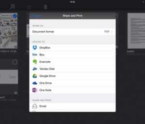 Share documents with ease on iPad