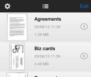 SharpScan: Manage documents with ease