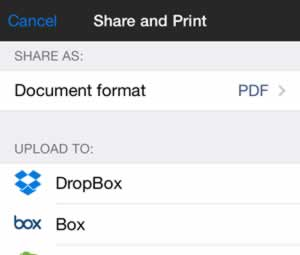 SharpScan: Share documents with ease